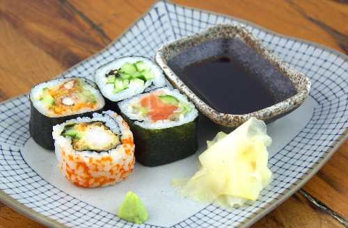 Order sushi takeaway in Islington